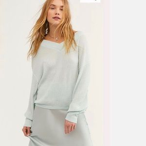 NWOT Free People South Side Thermal
